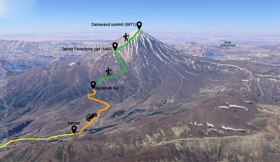 damavand tours